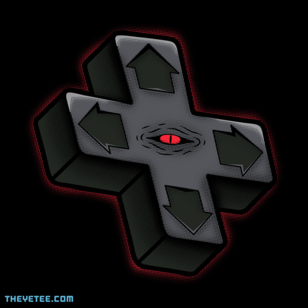The Yetee: The D-Pad from the beyond!
