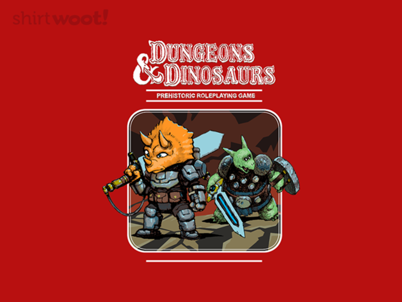 Woot!: Dungeons and Dinosaurs - $15.00 + Free shipping