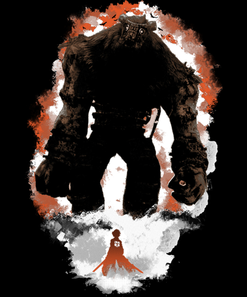 Qwertee: Attack on Colossus