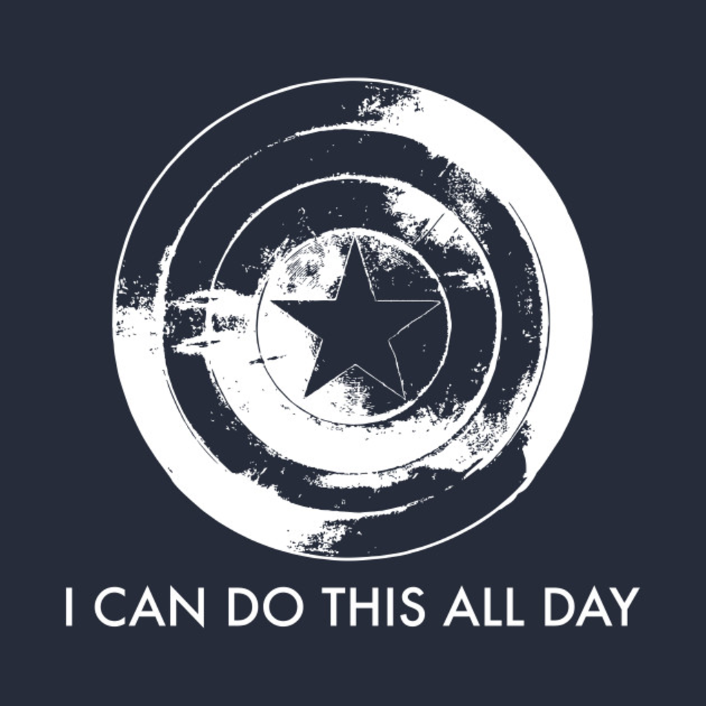 TeePublic: I Can Do This All Day (Captain America)