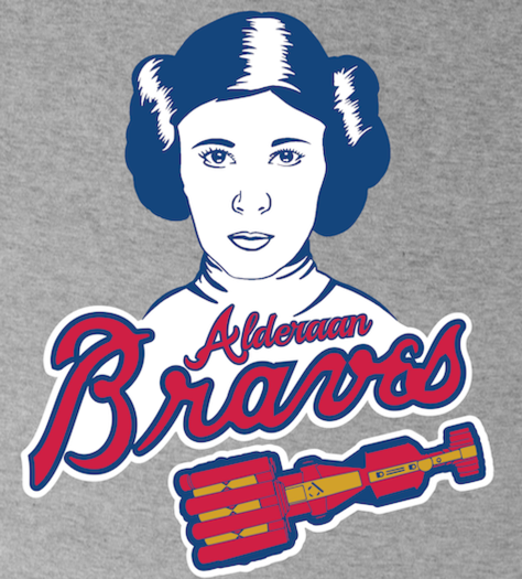 Shirt Battle: Alderaan Braves