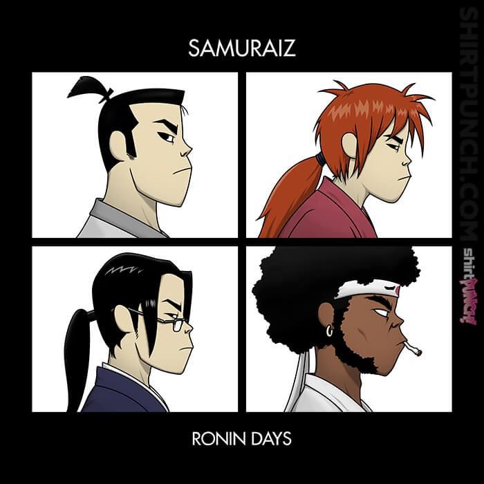 ShirtPunch: Ronin Days