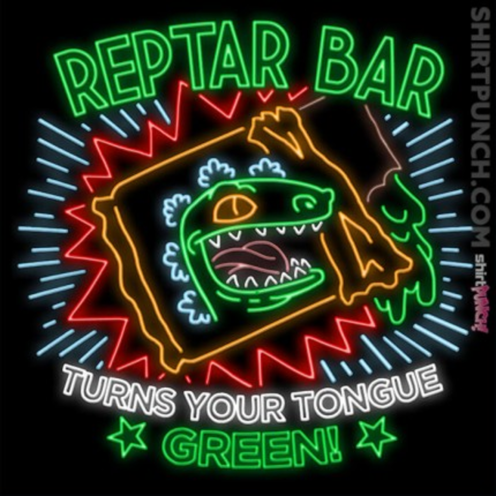 ShirtPunch: Reptar Bar