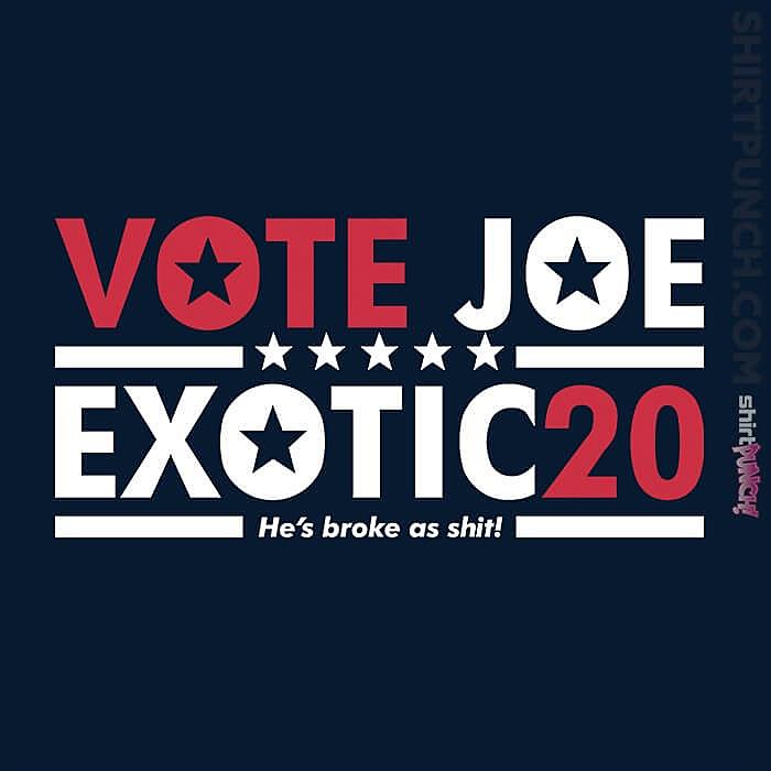 ShirtPunch: Vote For Joe