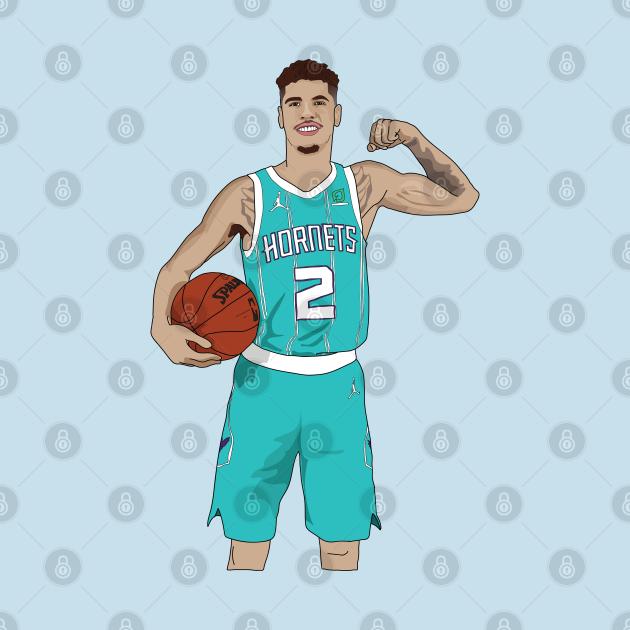 TeePublic: Lamelo Ball Charlotte Hornets