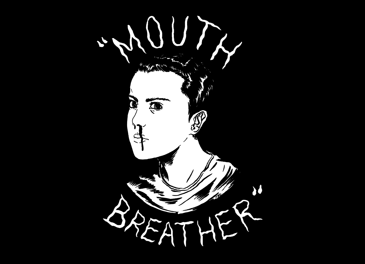 Threadless: Mouth Breather