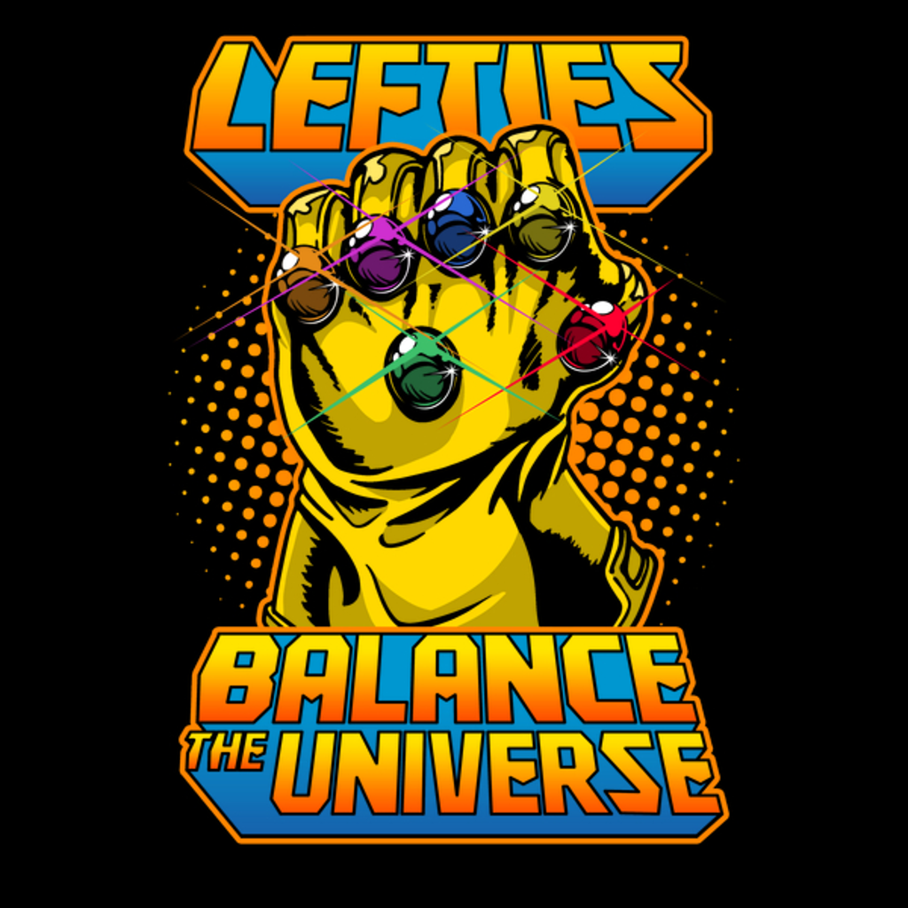 NeatoShop: Lefties Balance the Universe (dark)