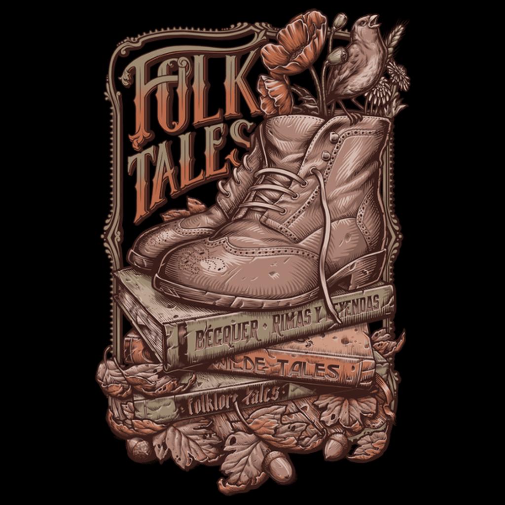 NeatoShop: Folk Tales - Vintage colors