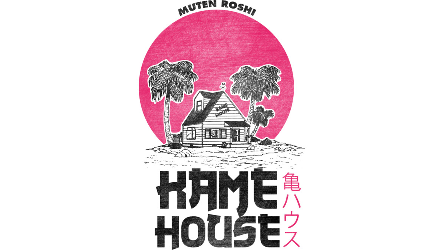 Design by Humans: Kame house pink