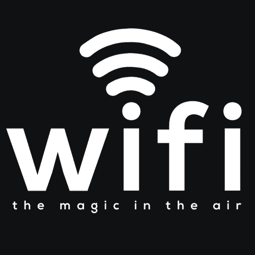 Textual Tees: Wifi The Magic in the Air
