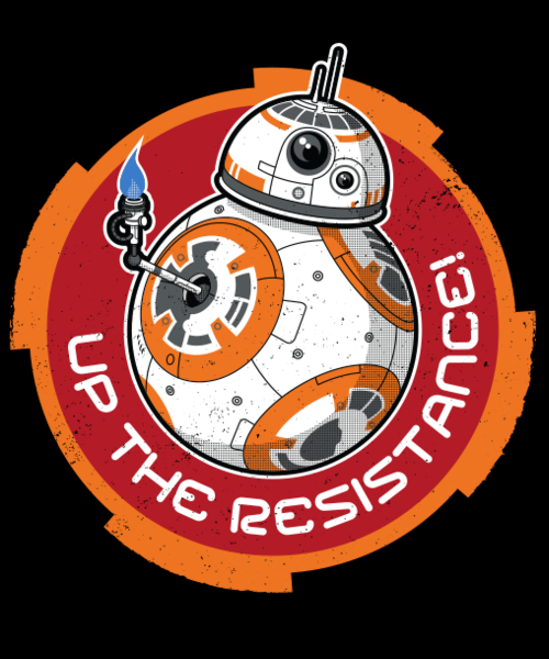 Qwertee: Up the Resistance!