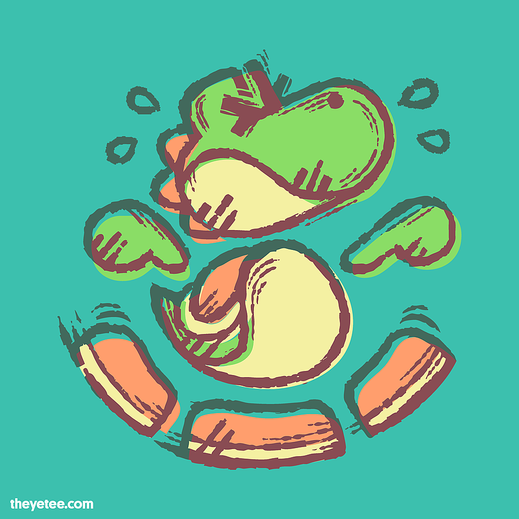 The Yetee: Flutter Jump