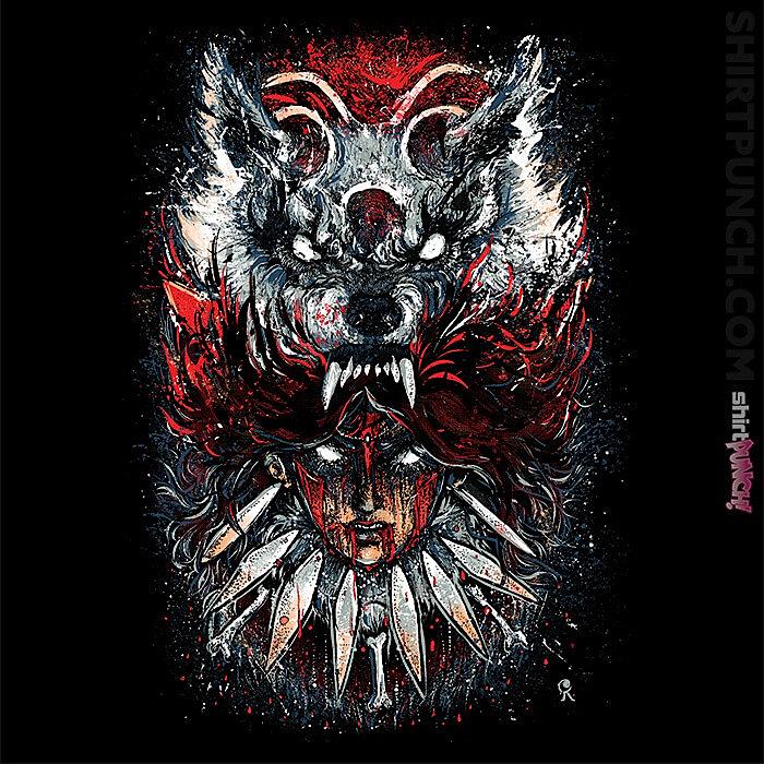 ShirtPunch: Wolf Princess
