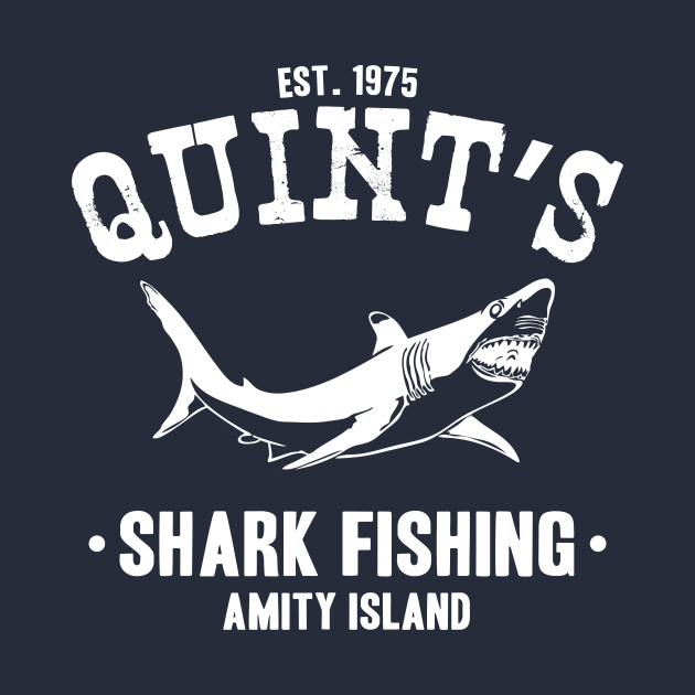 TeePublic: Quint's Shark Fishing