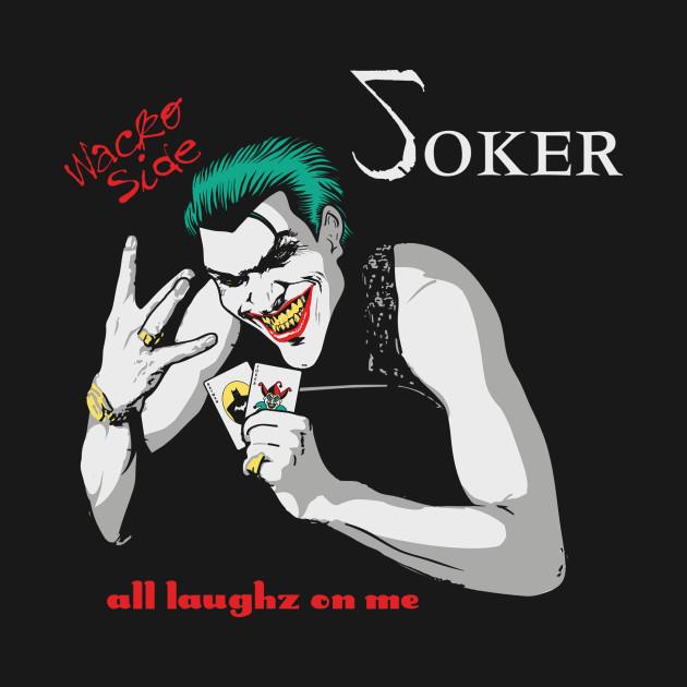 TeePublic: All Laughz On Joker