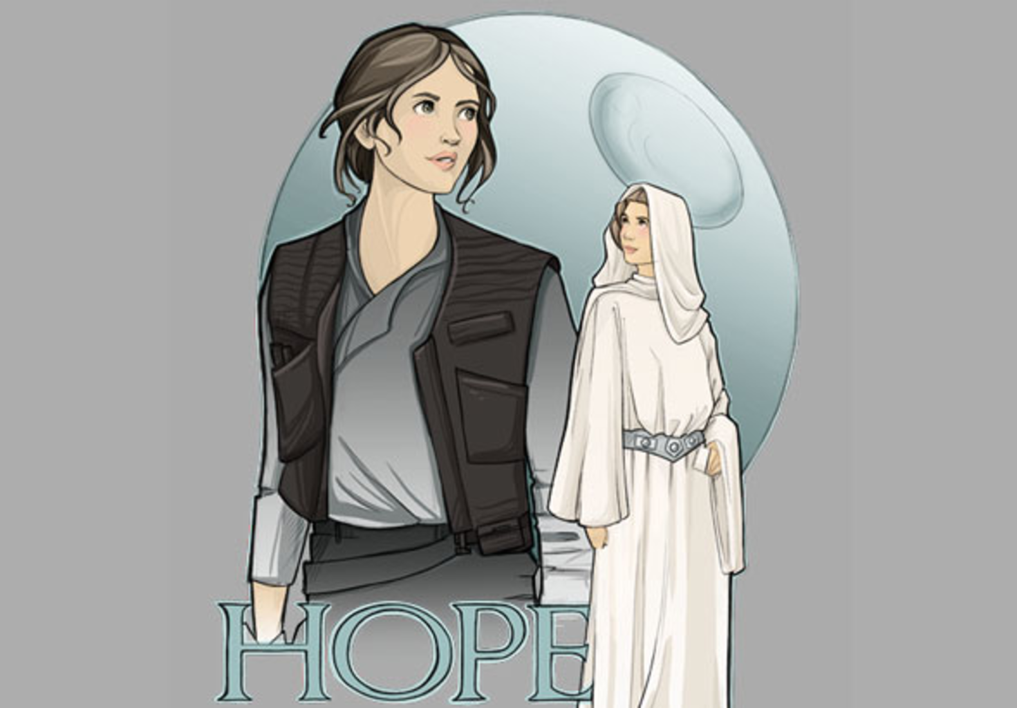 teeVillain: Karen Hallion's HOPE
