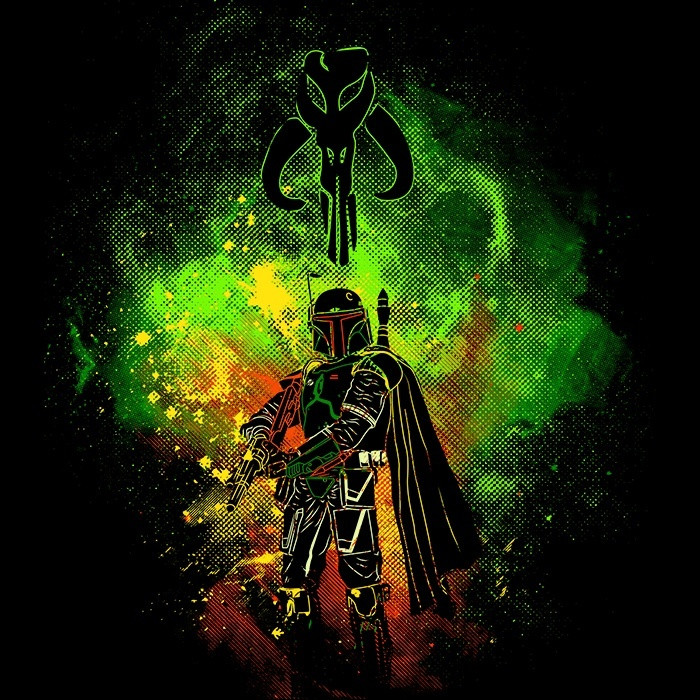 We Heart Geeks: Mandalore Art - Men's T-Shirt