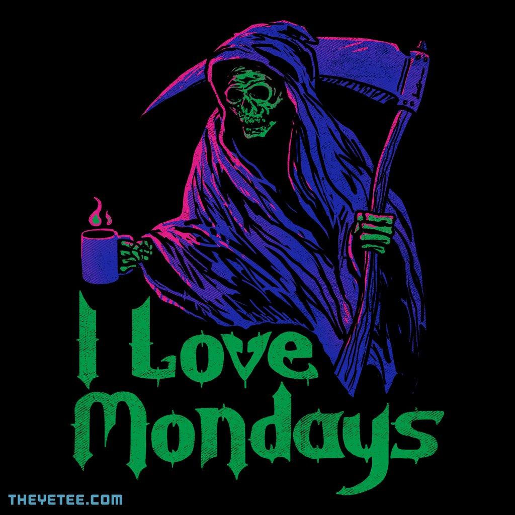 The Yetee: I Love Mondays