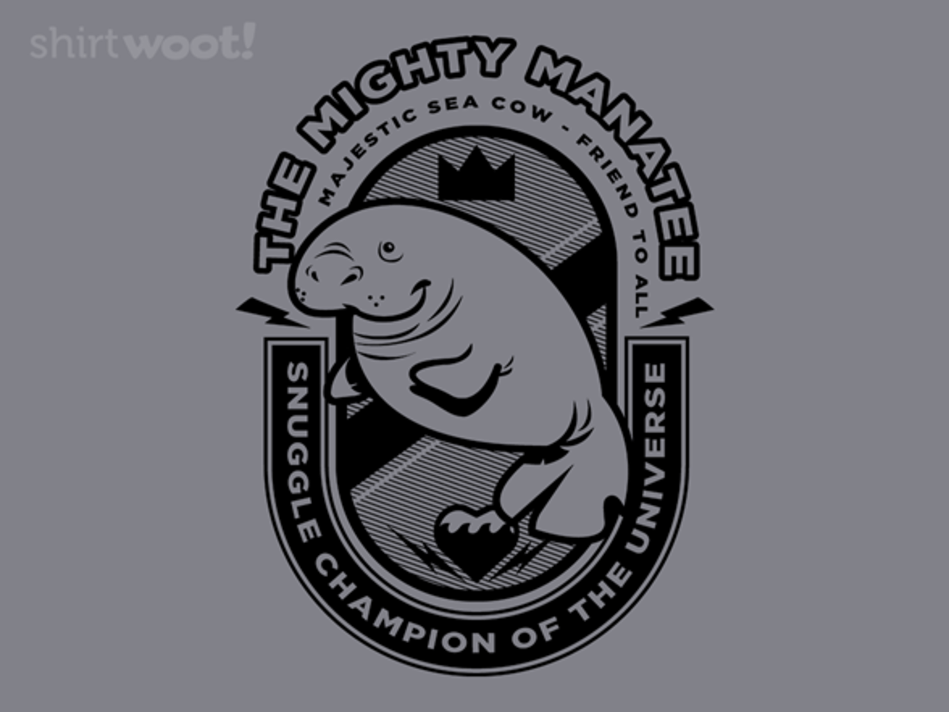 Woot!: The Mighty Manatee