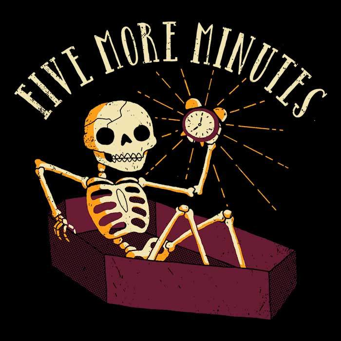 Once Upon a Tee: Five More Minutes