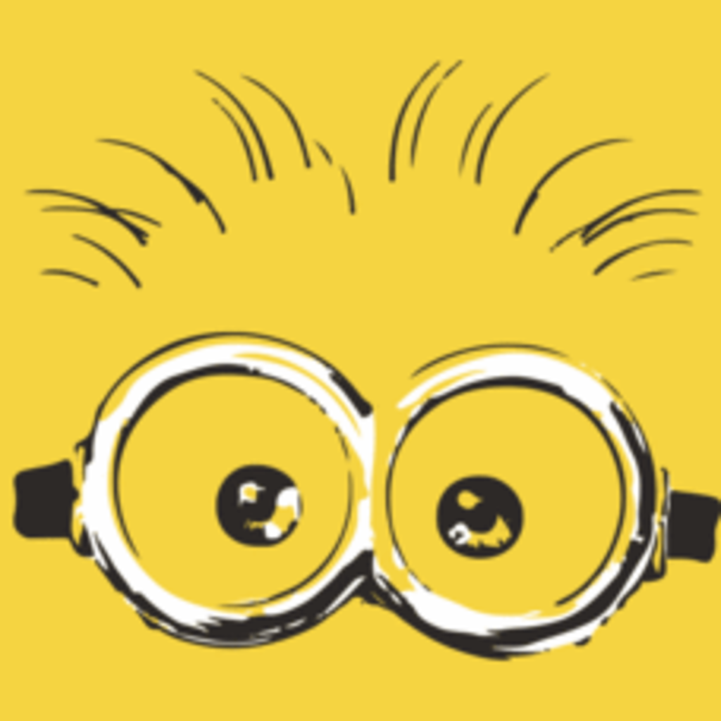 Textual Tees: Minion Eyes T-Shirt