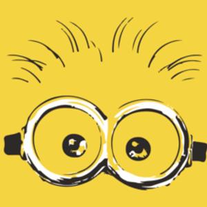 Textual Tees: Minion Eyes T-Shirt