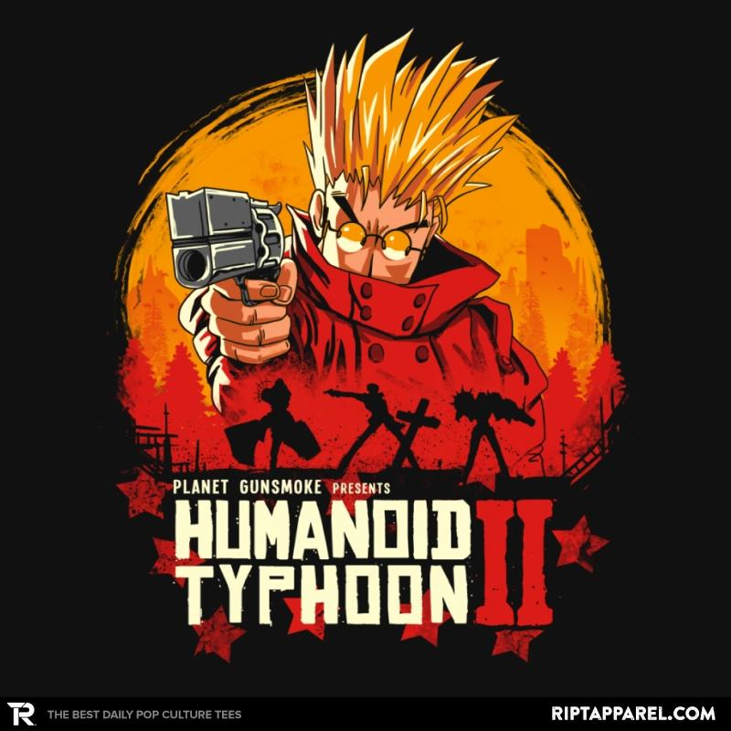 Ript: Red Humanoid Typhoon II