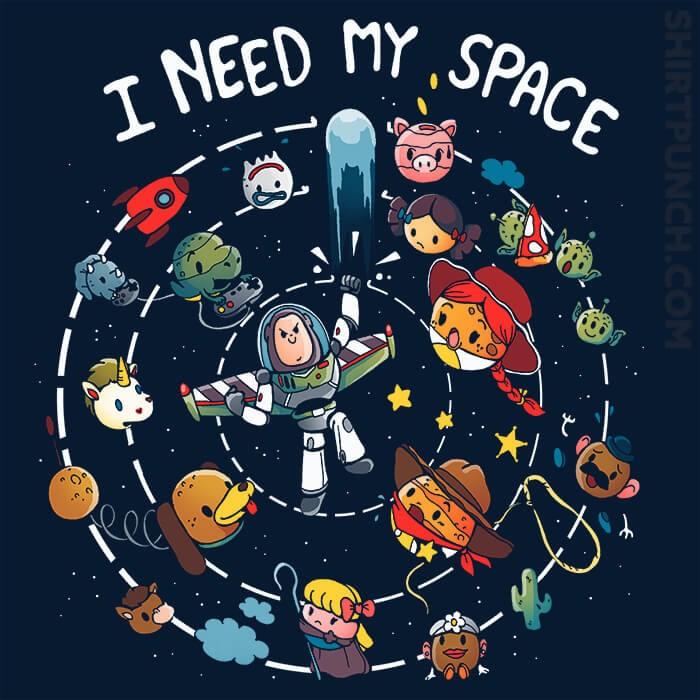 ShirtPunch: I Need My Space