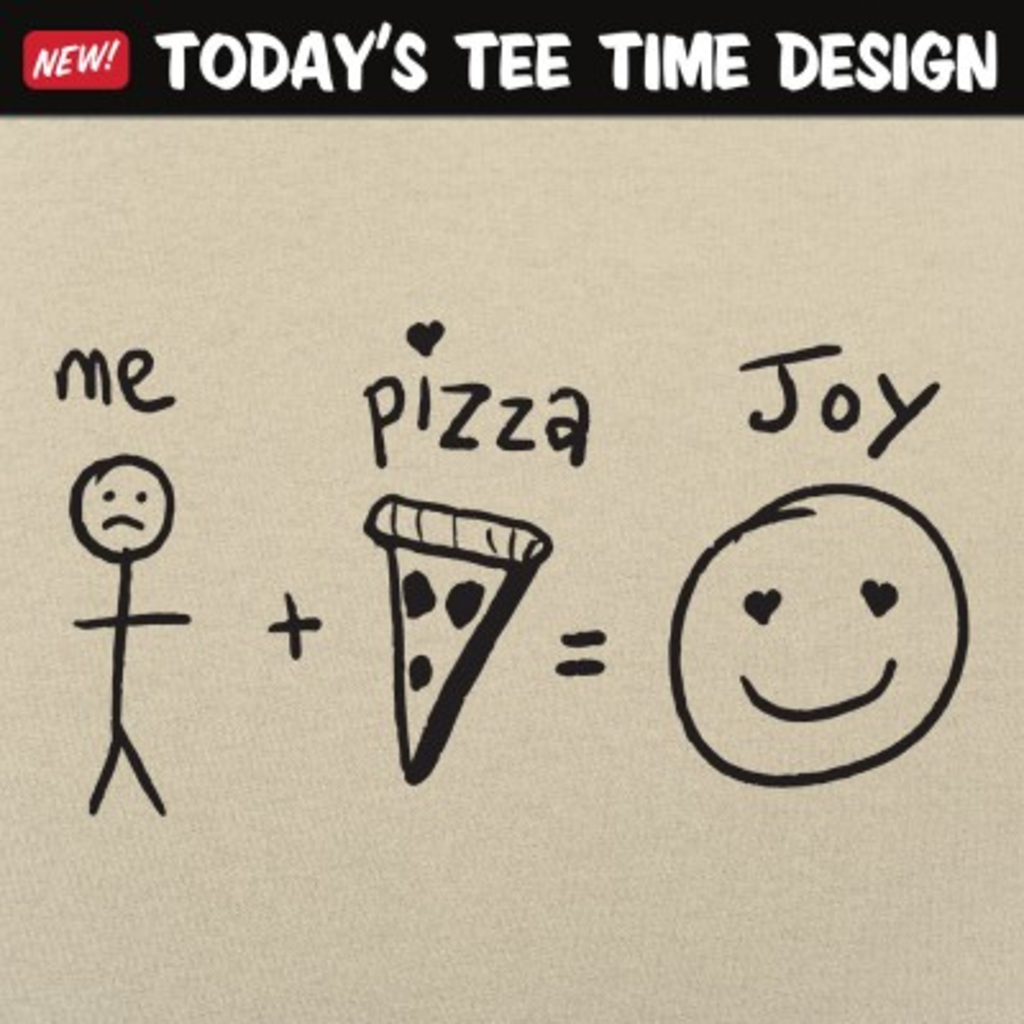 6 Dollar Shirts: Pizza Joy Equation