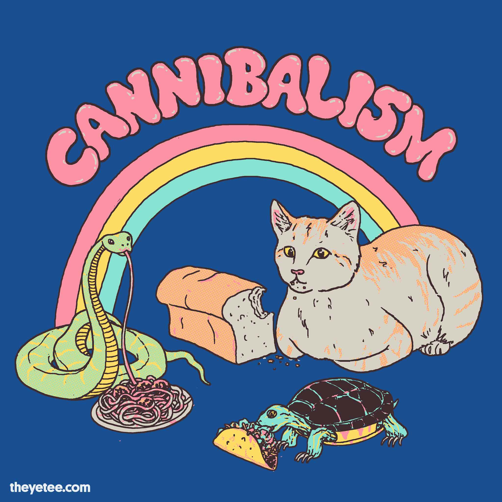 The Yetee: Cannibalism