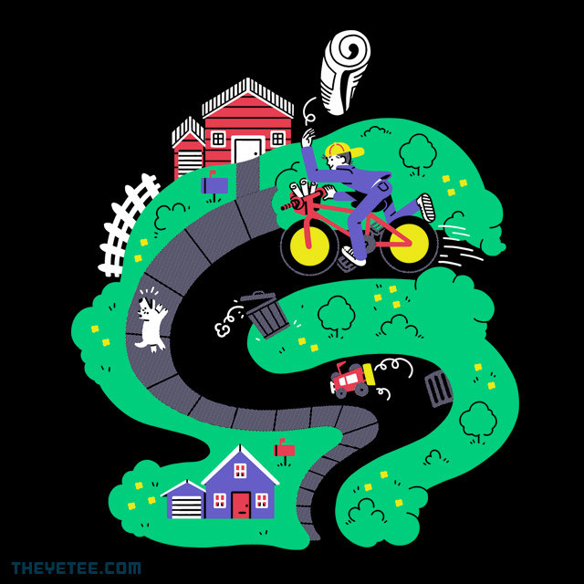 The Yetee: Special Delivery