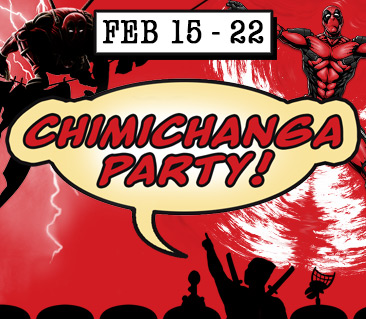 TeeFury: Chimichanga Party Collection