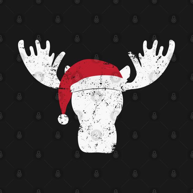 TeePublic: Christmas Moose Christmas Moose Santa Christmas Moose T-Shirt Sweater Hoodie Iphone Samsung Phone Case Coffee Mug Tablet Case Gift