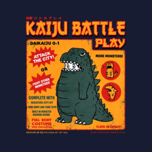 Threadless: Kaiju Battle Play