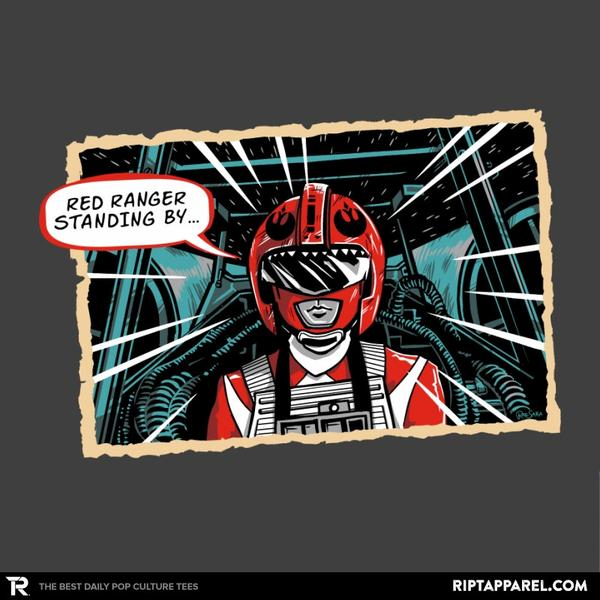 Ript: Red Ranger Standing By
