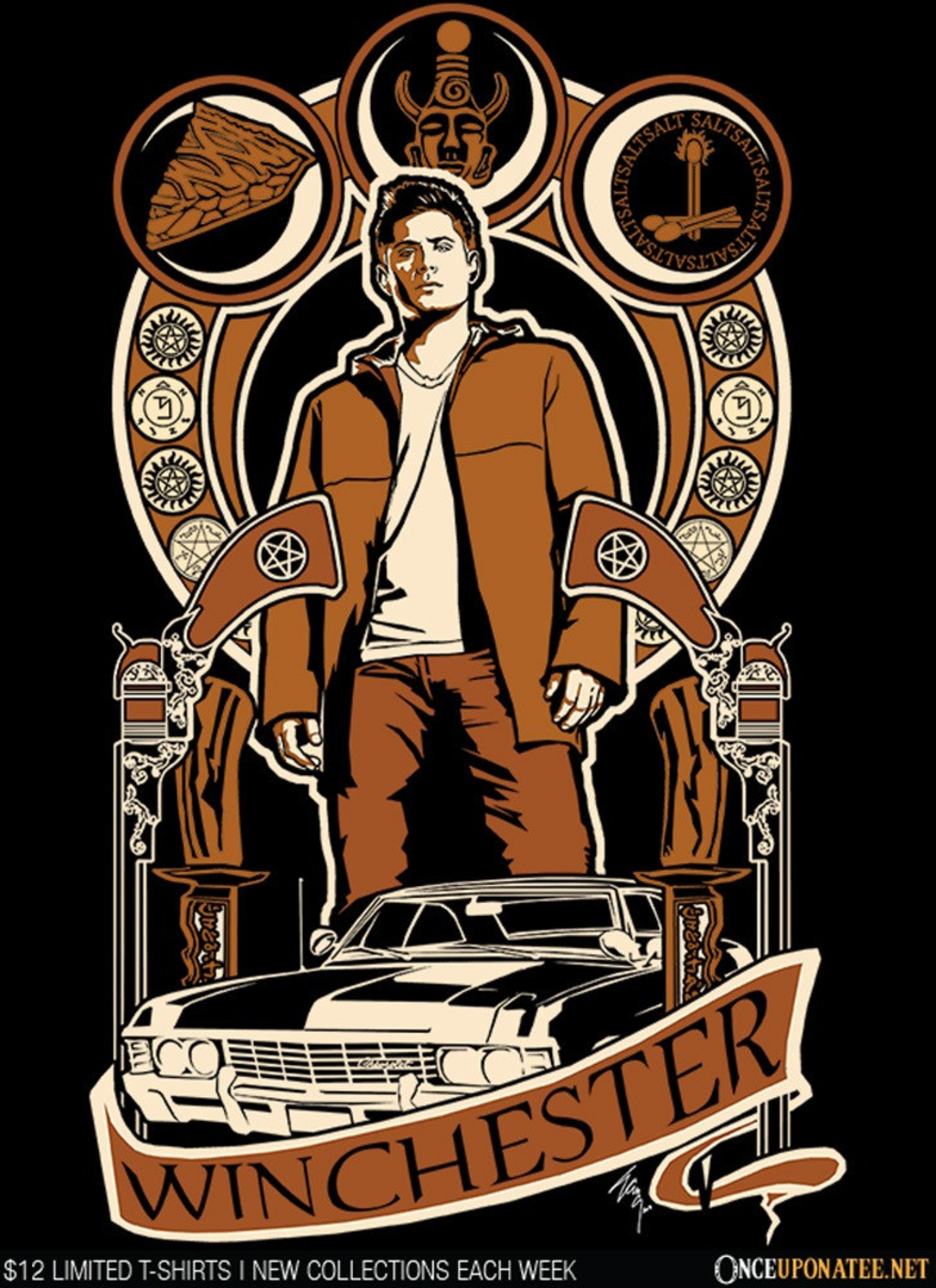 Once Upon a Tee: Dean Nouveau