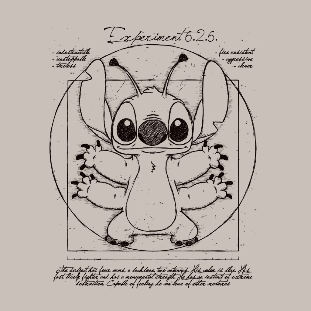 TeeTee: Vitruvian stitch