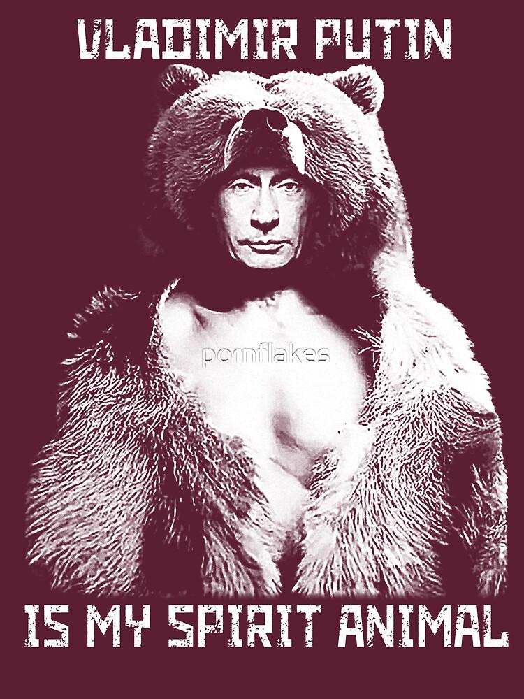 RedBubble: Putin is my spirit animal