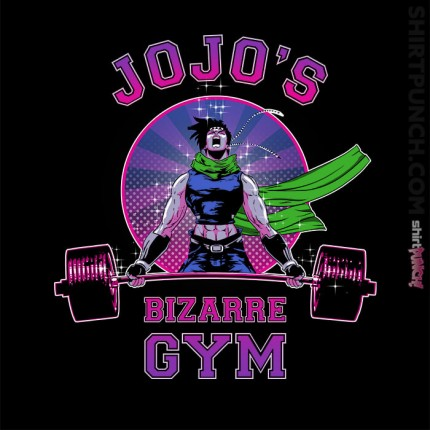 ShirtPunch: Jojo's Bizarre Gym