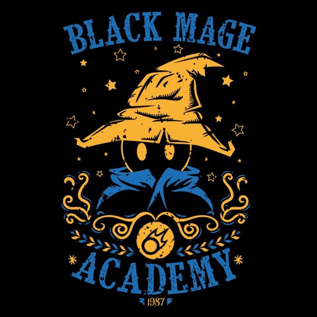 Once Upon a Tee: Black Mage Academy