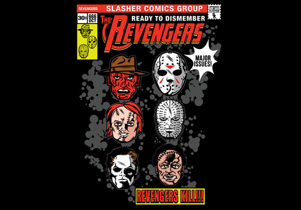 teeVillain: THE REVENGERS