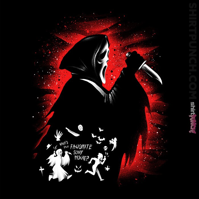ShirtPunch: Ghost Face
