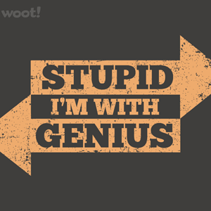Woot!: I'm With Stupid Genius