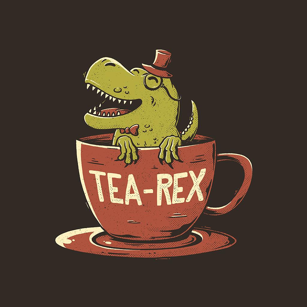 TeeTee: Tea-Rex