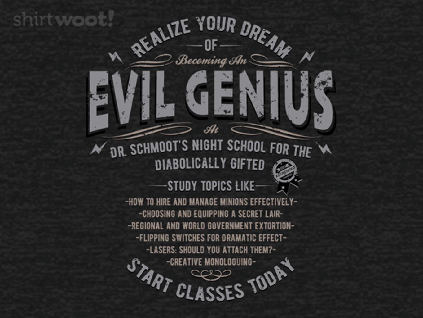Woot!: An Evil Education - Remix
