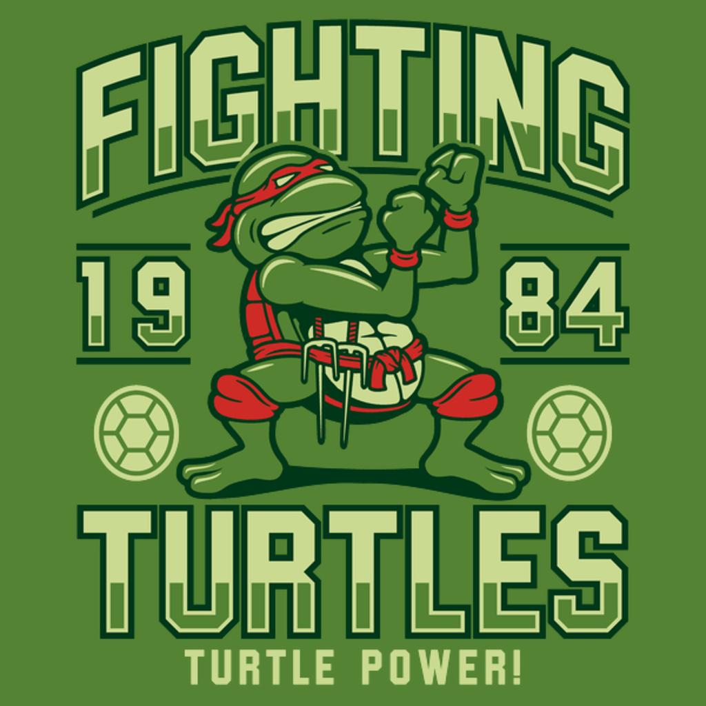 NeatoShop: Fighting Turtles - Turtle Power!