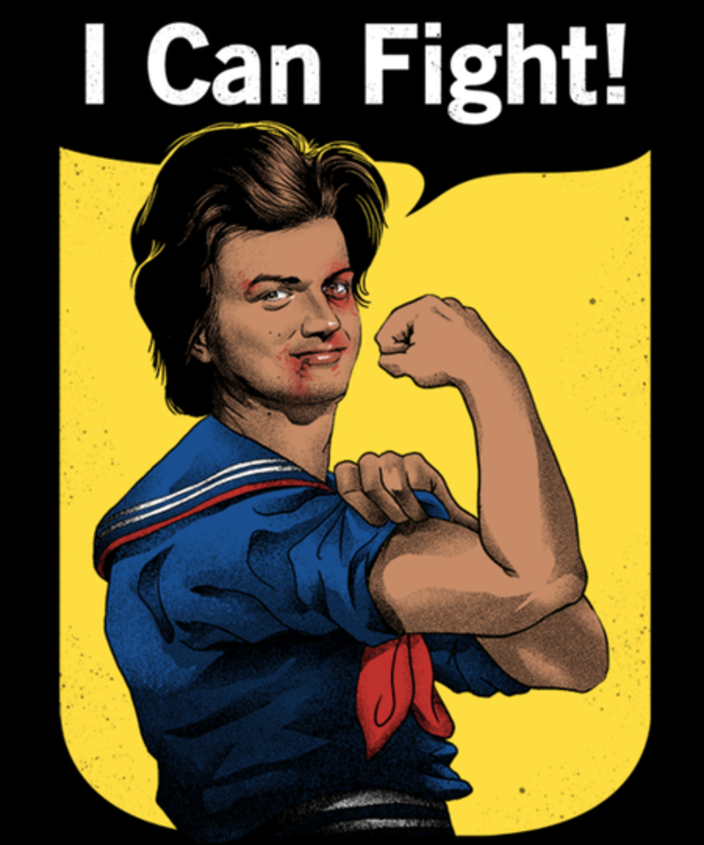 Qwertee: I Can Fight!