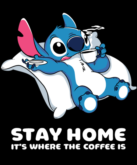 Qwertee: Home is where the coffee is