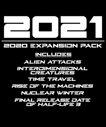 Qwertee: 2020 expansion pack