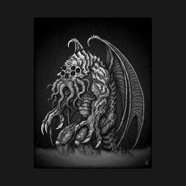 TeePublic: Great Cthulhu - Azhmodai 2019